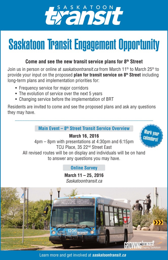 8th street transit service plans